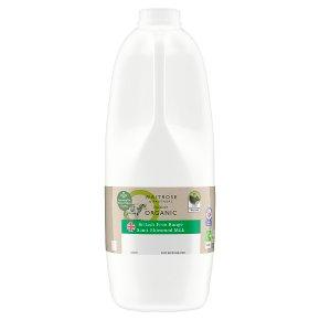 Duchy Organic Unhomogenised Semi-Skimmed Milk