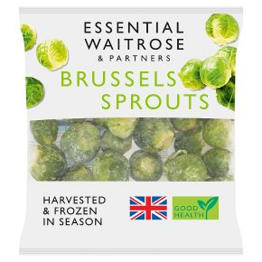 Essential Frozen Brussels Sprouts