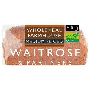 Waitrose Wholemeal Farmhouse Medium