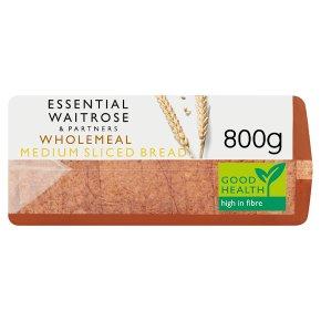 Essential Wholemeal Medium Sliced Bread