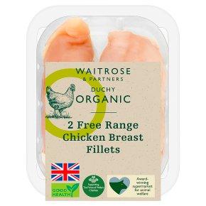 Duchy Organic 2 Free Range British Breast Fillets