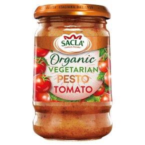 Sacla' Italia Organic Tomato Pesto