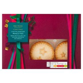 Waitrose Christmas 6 Shortcrust Mince Pies
