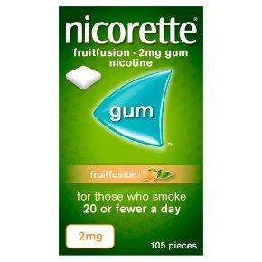 Nicorette Fruitfusion 2mg Gum