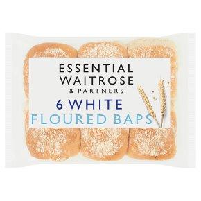Essential White Floured Baps