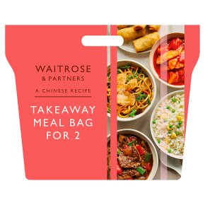 Waitrose Chinese Takeaway Meal for 2