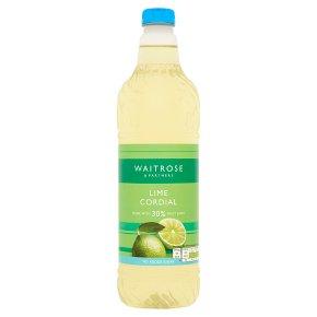 Waitrose 30% Mexican lime juice cordial
