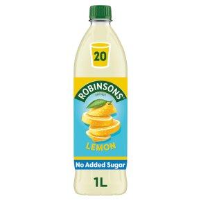 Robinsons no added sugar lemon
