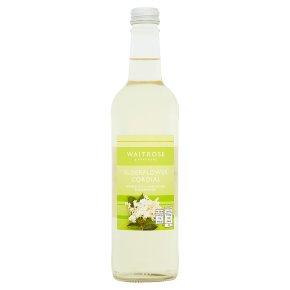 Waitrose Elderflower Cordial