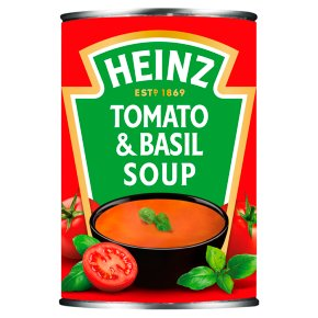 Heinz cream of tomato & basil soup