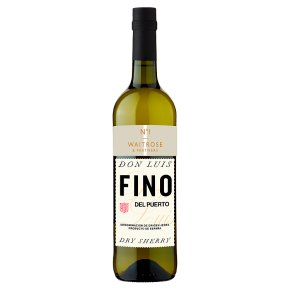 Waitrose No.1 Fino del Puerto Sherry