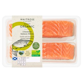 Waitrose Duchy 2 Salmon Fillets