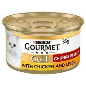 Gourmet Gold Chunks in Gravy with Chicken & Liver