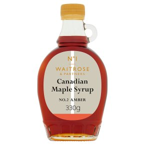No.1 Canadian Maple Syrup No.2 Amber