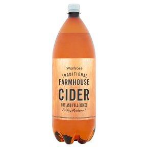 Waitrose traditional farmhouse cider dry