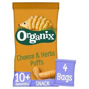 Organix Cheese & Herb Corn Puffs