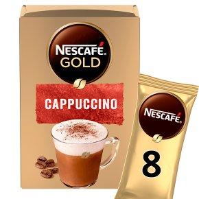 Nescafe Gold Sachets Cappuccino Instant Coffee