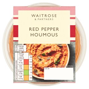 Waitrose Red Pepper Houmous