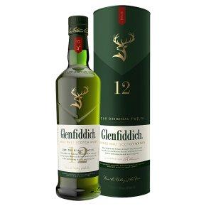 Glenfiddich aged 12 years Single Malt Whisky Speyside