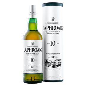Laphroaig 10 Year Old Islay Single Malt Whisky Islay, Scotland