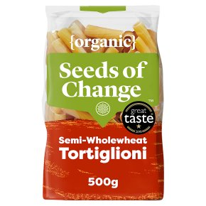 Seeds of Change pasta tortiglioni semi wholewheat