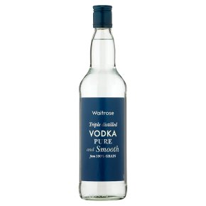 Waitrose Vodka