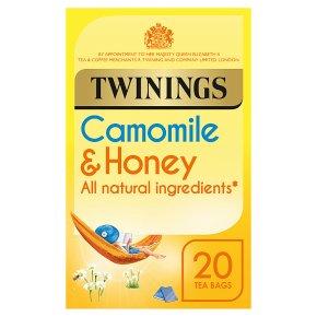 Twinings Camomile & Honey 20 Tea Bags
