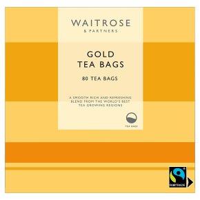 Waitrose Gold Tea 80 Tea Bags