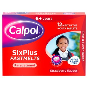 Calpol Six Plus Fastmelts