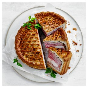 Pork, Chicken & Ham Pie
