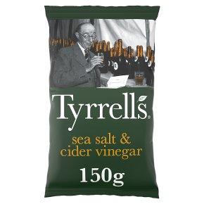Tyrrells sea salt & cider vinegar crisps