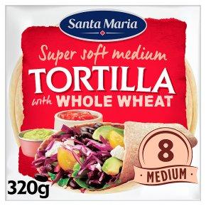 Santa Maria 8 Whole Wheat Tortillas