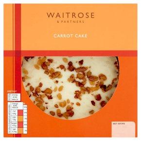 Waitrose carrot cake