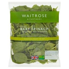 Waitrose Baby Spinach