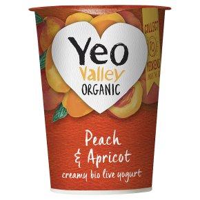 Yeo Valley Peach & Apricot Yogurt