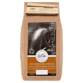 Bacheldre Stoneground Strong Wholemeal Flour