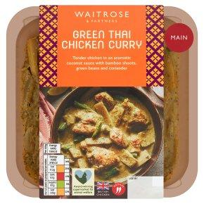 Waitrose Asian Green Thai Chicken Curry