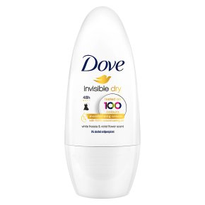 Dove 48h roll-on invisible dry