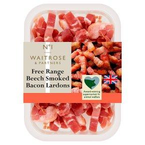 No.1 Free Range Beech Smoked Bacon Lardons