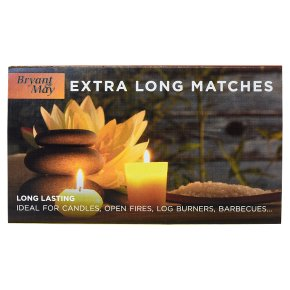 Bryant & May matches extra long