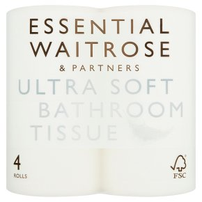 Essential White Ultra Soft Bathroom Tissue