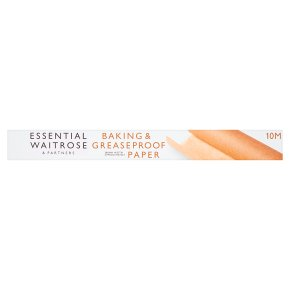 Essential Baking Parchment/ Greaseproof Paper