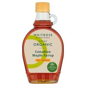 Duchy Organic Maple Syrup No.1 Medium