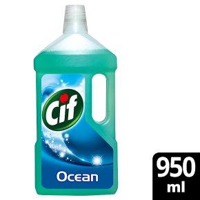 Cif Floor Cleaner Ocean