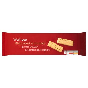 Waitrose shortbread fingers