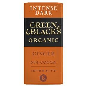 Green & Black's Dark Chocolate Ginger