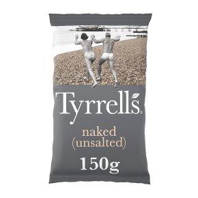 Tyrrells naked-no salt crisps
