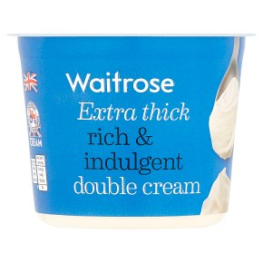 Waitrose Extra Thick Double Cream