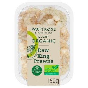 Duchy Organic Raw King Prawns