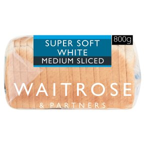 Waitrose Soft White Medium Sliced